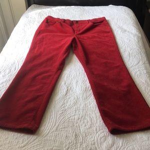 Ralph Lauren Red Corduroy pants.